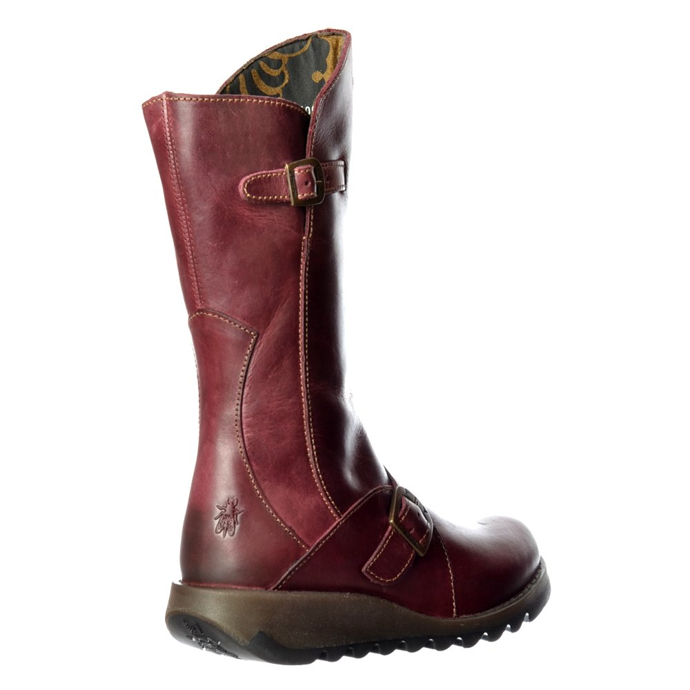 Womens Fly London Mes 2 Calf High Winter Boot Low Wedge