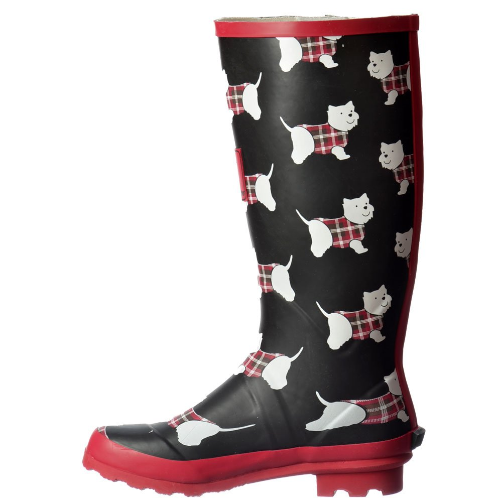 Womens Girls Flat Wellie Wellington Festival Rain Boots
