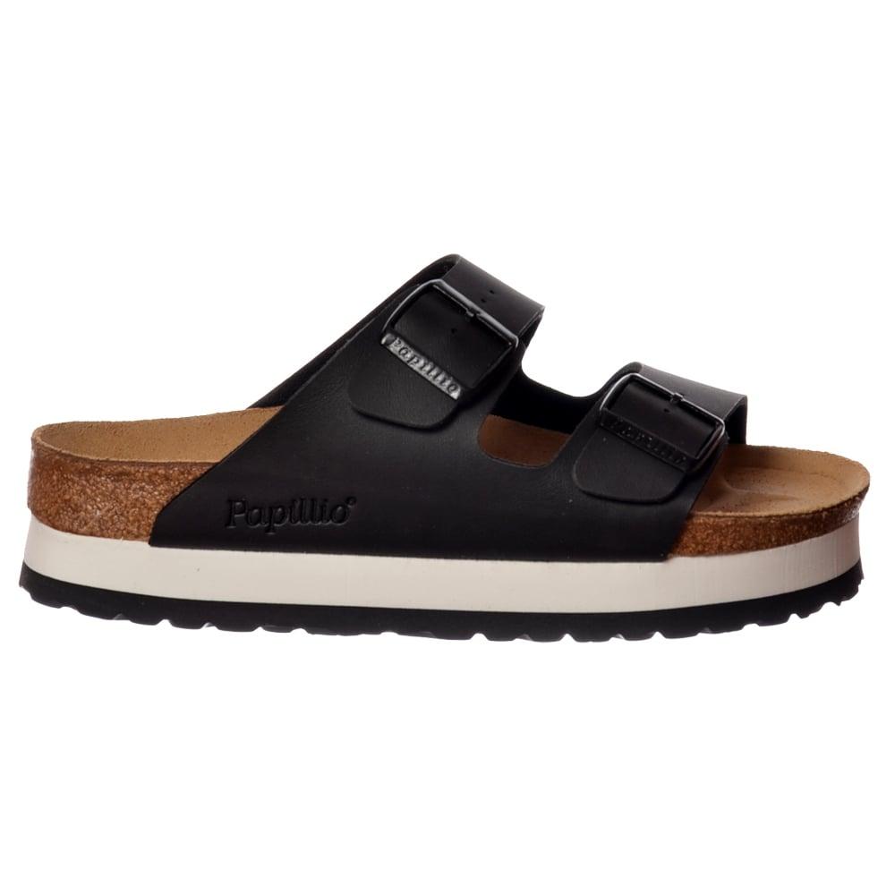 birkenstock papillio arizona wedge platform standard fitting flip flop sandal ebay. Black Bedroom Furniture Sets. Home Design Ideas