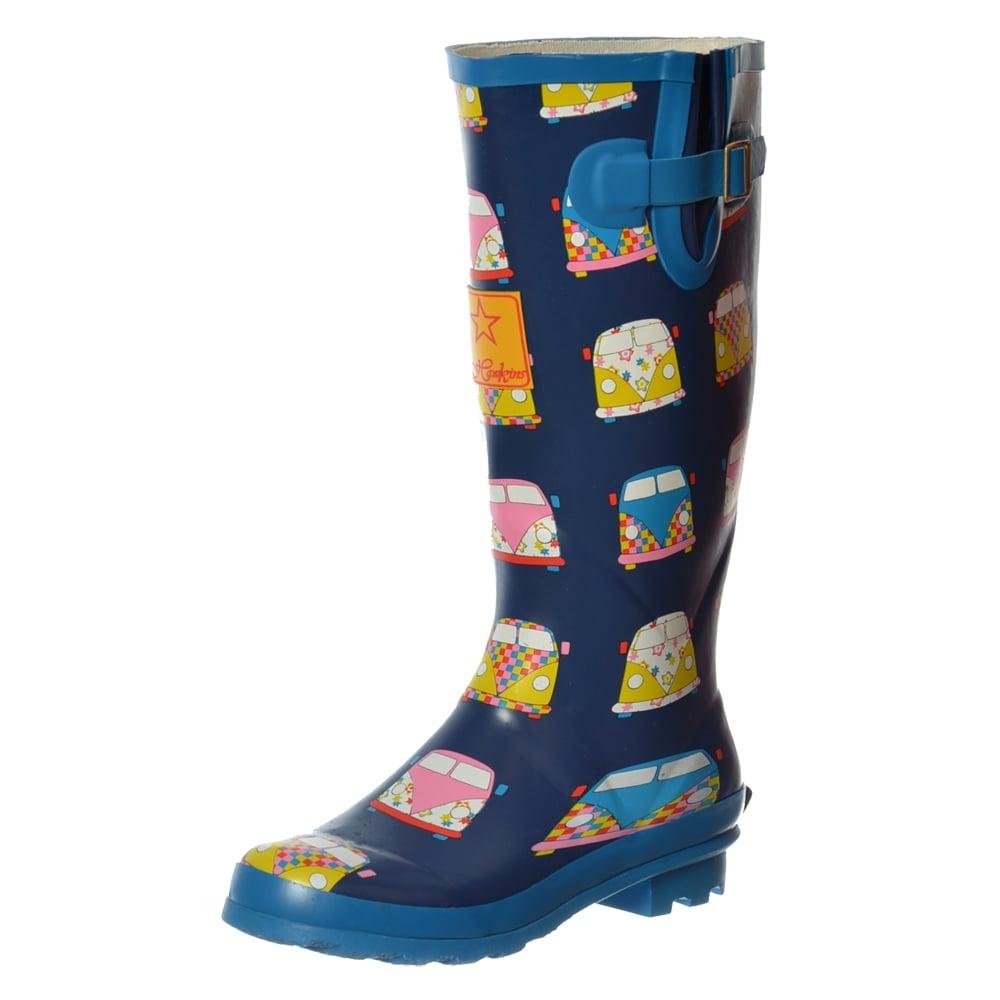Womens Wellington Rain Shoe