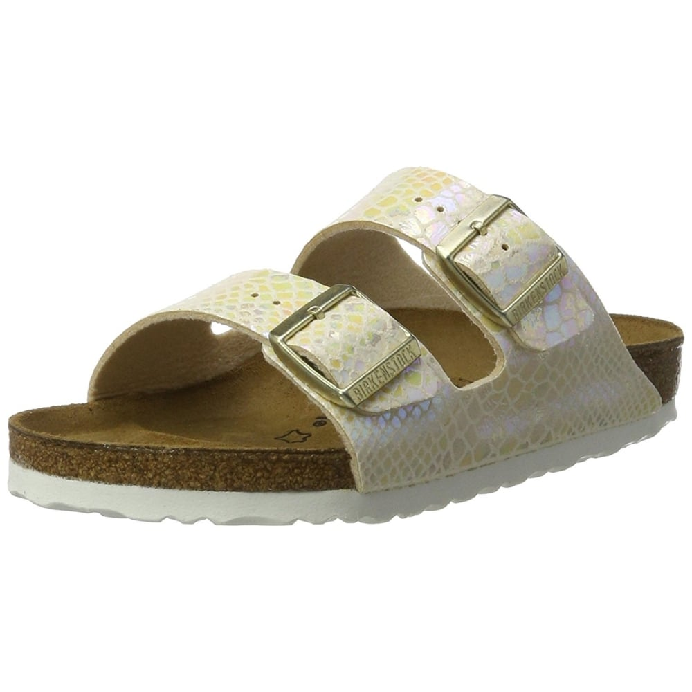 4687c2815 Arizona Shiney Snake Birkoflor - Standard Fitting Classic Buckled Two Strap  - Flip Flop Sandal