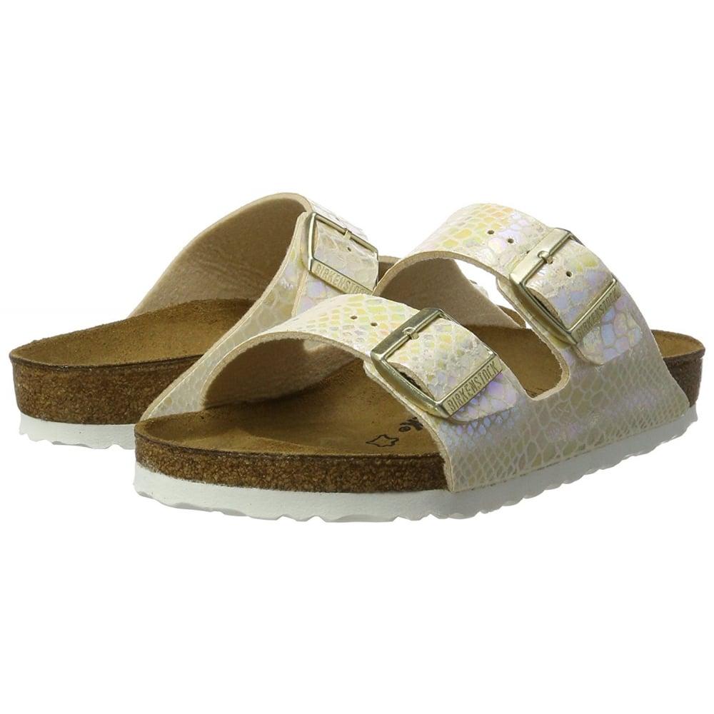 0d960d2658fd Arizona Shiney Snake Birkoflor - Standard Fitting Classic Buckled Two Strap  - Flip Flop Sandal