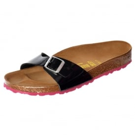 Classic Madrid BirkoFlor - Standard Fitting Buckled Single Strap - Flip Flop Sandal