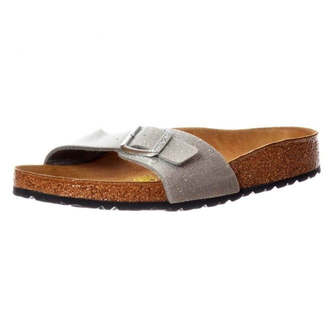 Birkenstock Madrid Magic Galaxy BirkoFlor - Standard Fitting Buckled Single Strap - Flip Flop Sandal