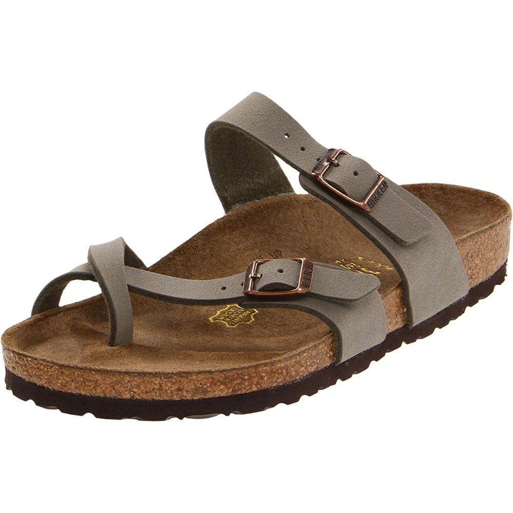8073fb5b12a7e0 Birkenstock Mayari Birko-Flor Pull Up Sandal Standard Fit - Toe Loop ...