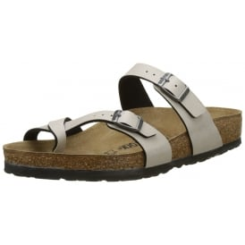 Mayari Birko-Flor Pull Up Sandal Standard Fit - Toe Loop Slip On Sandal