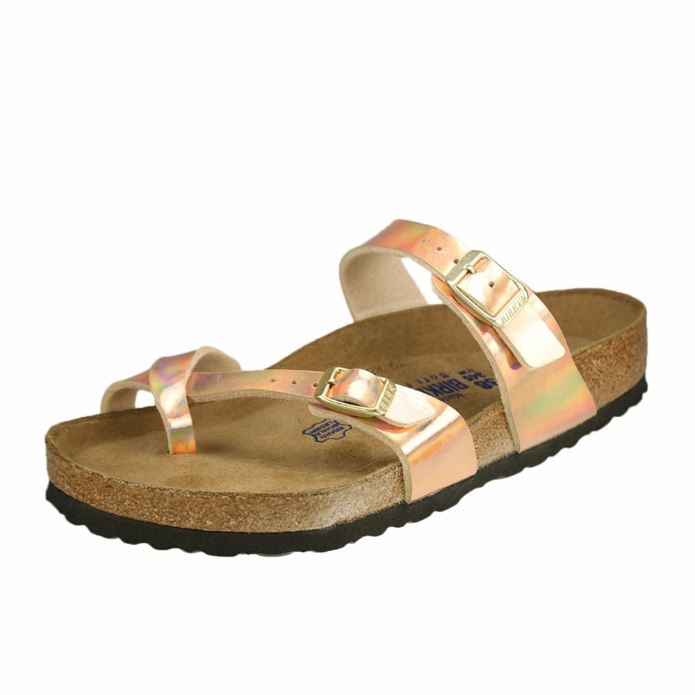 f7a0182be Birkenstock Mayari Birko-Flor Sandal Standard Fit - Toe Loop Slip On ...