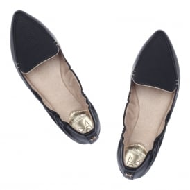 Amber Non Folding Pointed Toe Flat Shoe
