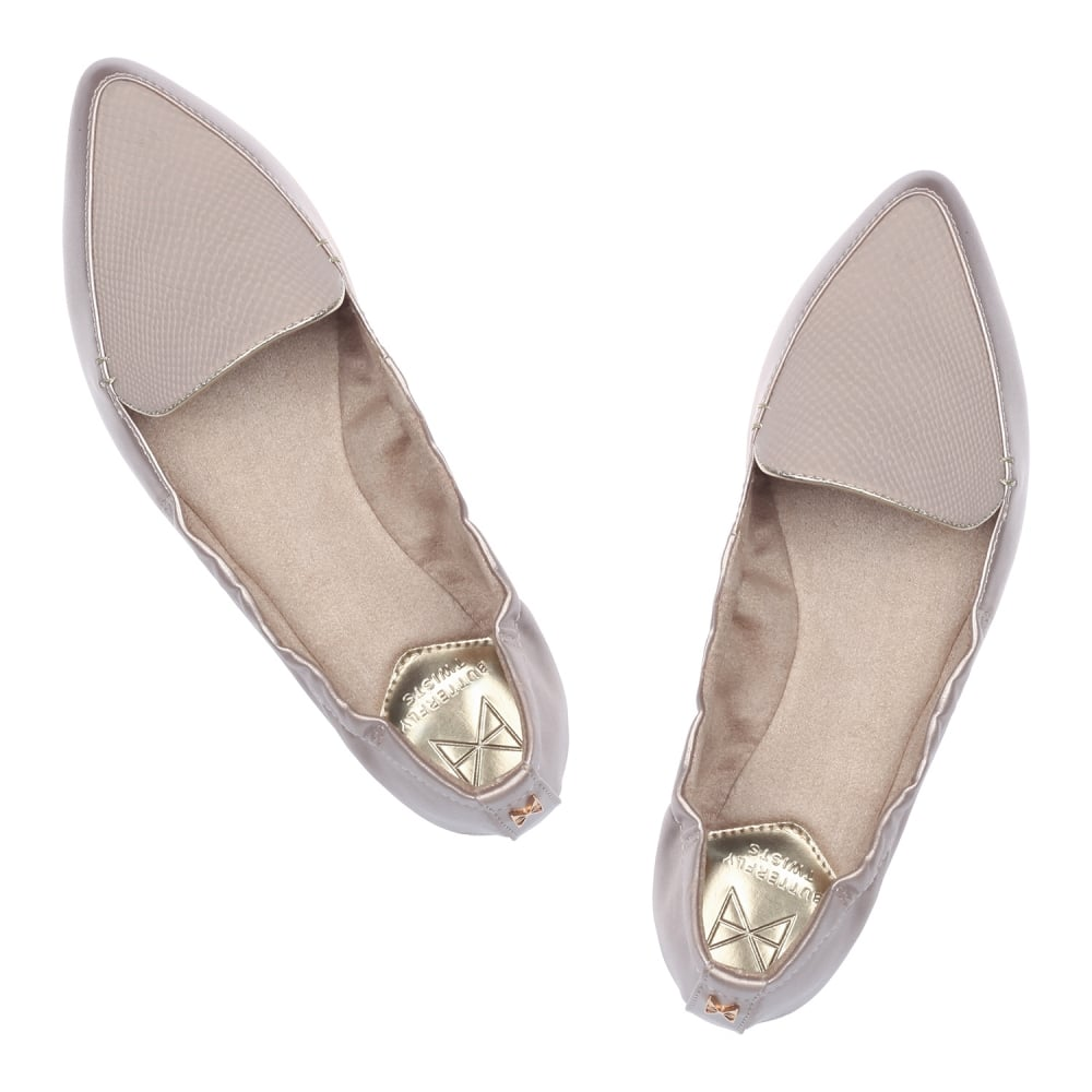 Butterfly Twists Amber Non Folding Pointed Toe Flat Shoe - WOMENS ... 944641d63