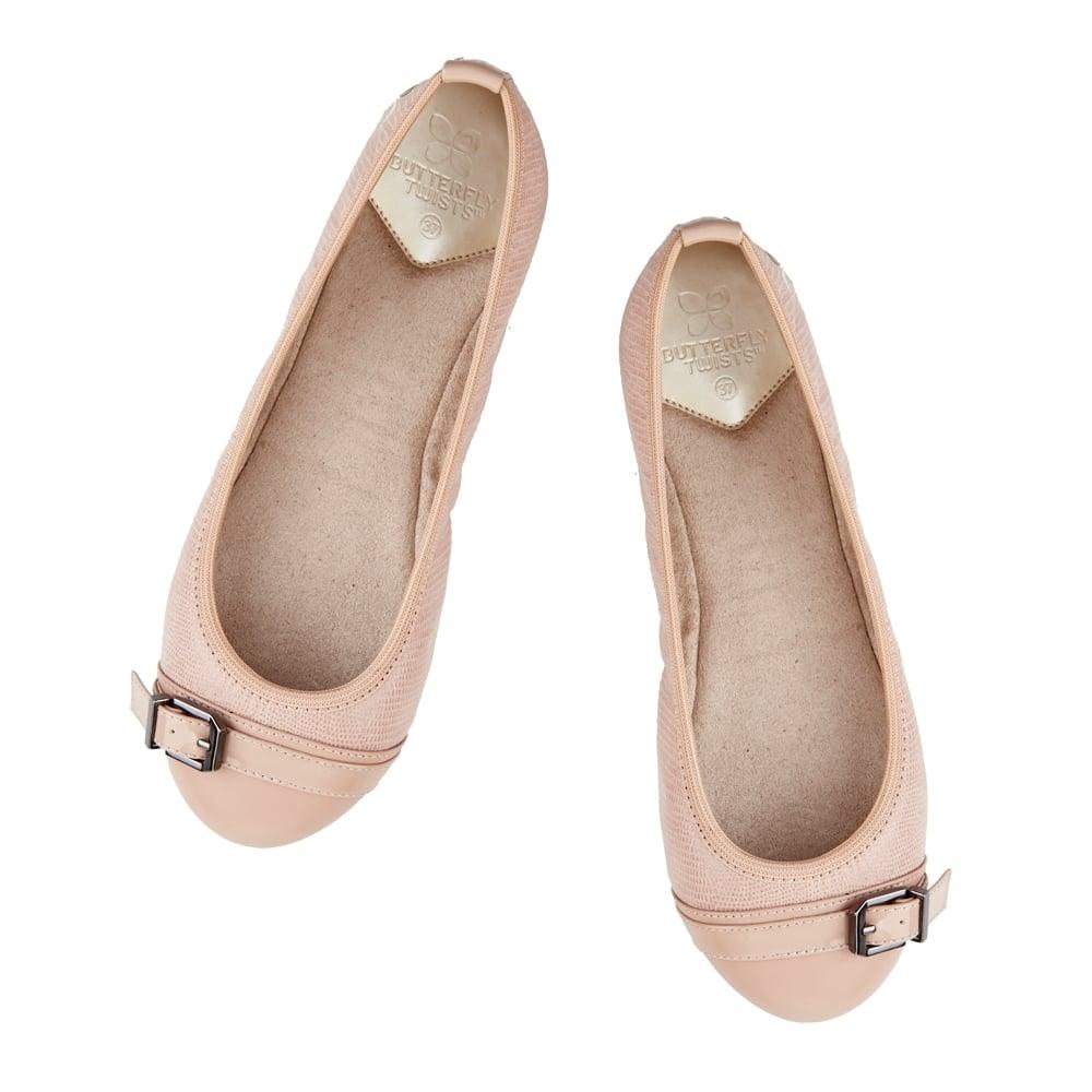 Womens Ella Ballet Flats Butterfly Twists 5kIRP