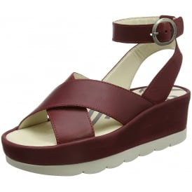 Bite850 Ankle Strap Wedge Sandals