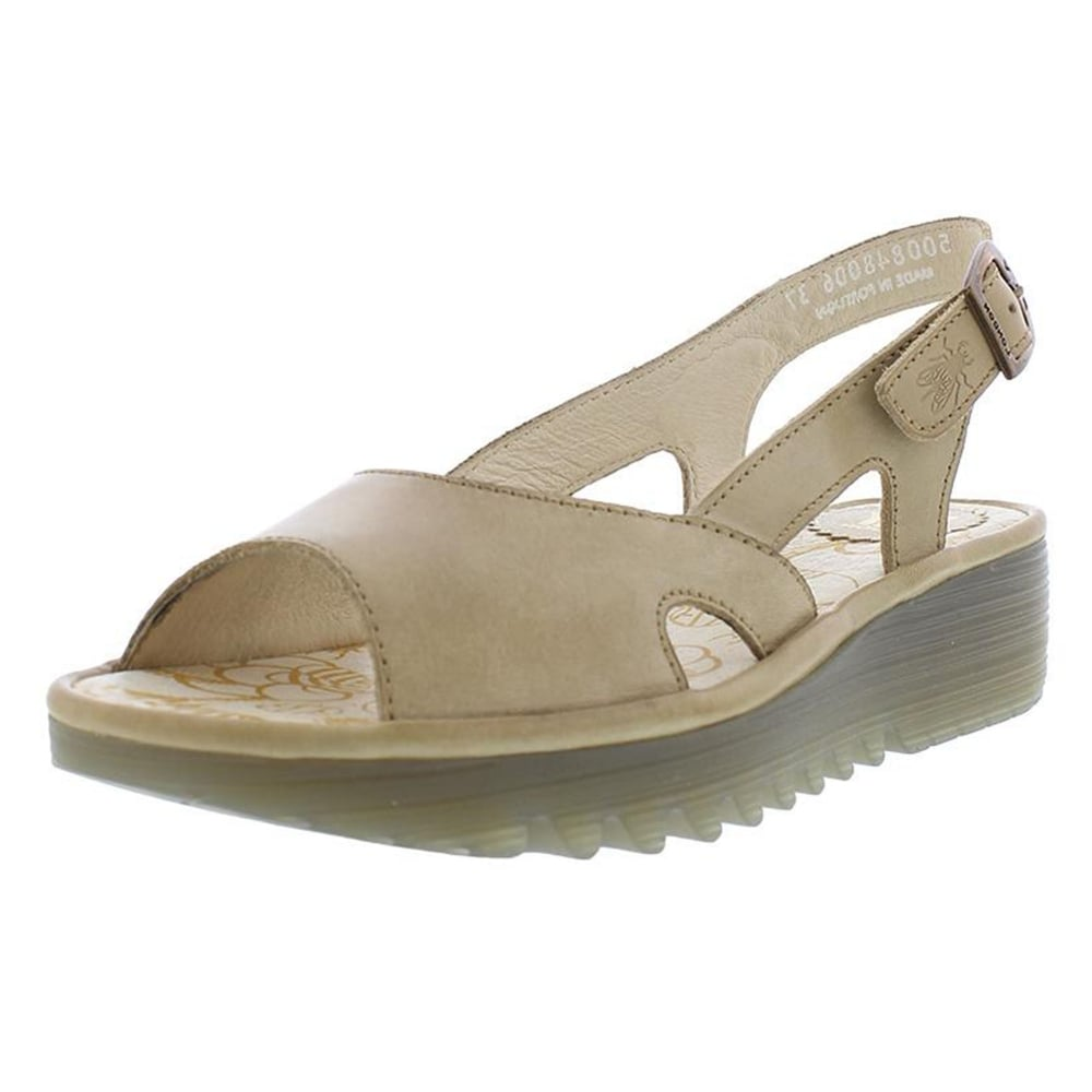 754c9e004840 Fly London Elfe 848FLY Slingback Wedge Sandals - WOMENS from ...