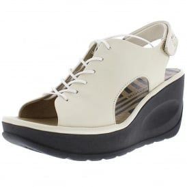 8bf77354283e Jart862 Lace Up Wedge Sandal New In. Fly London ...