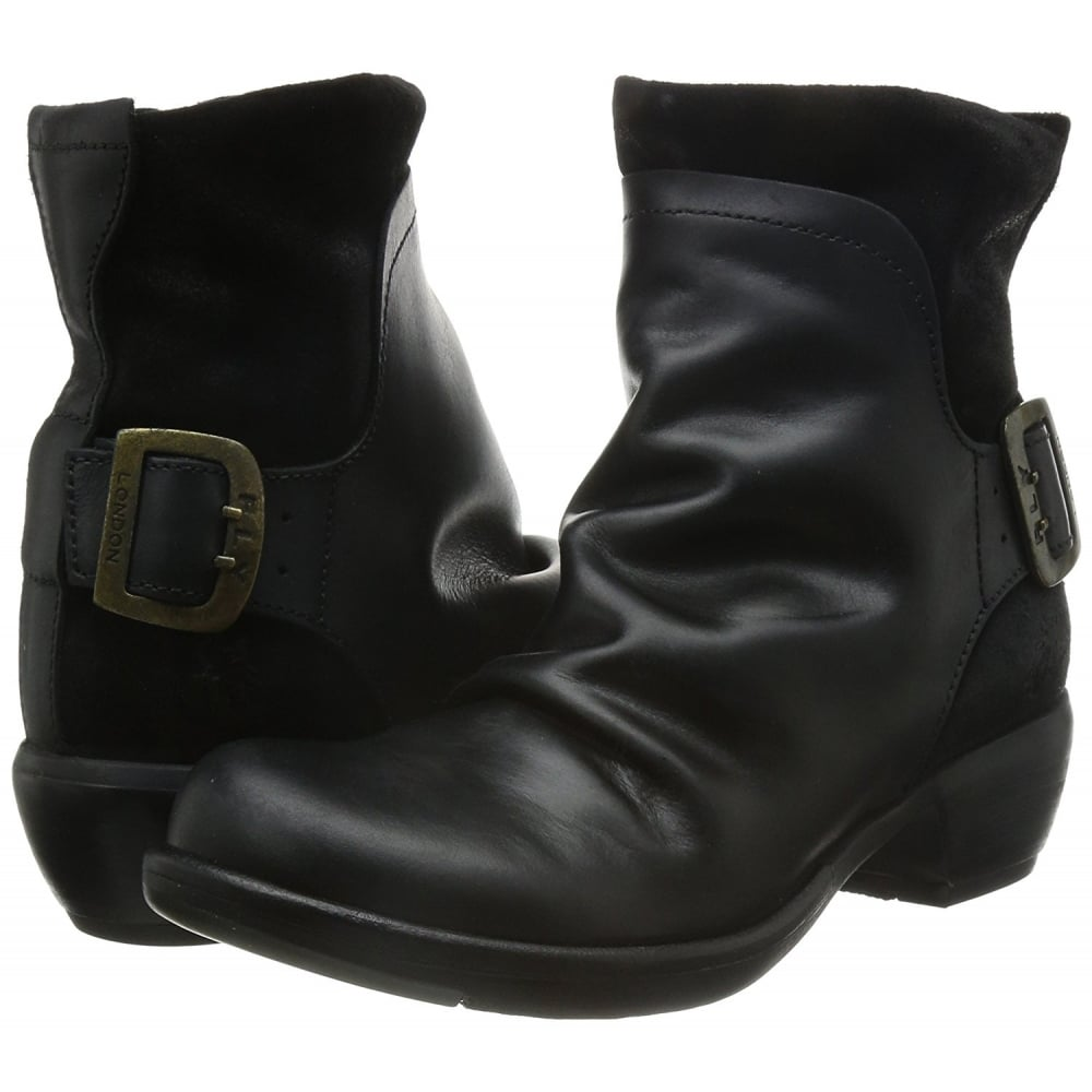 46b788f8b734b Fly London Mel Low Heel Ankle Boot - WOMENS from Onlineshoe UK