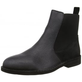 Mens Wack908FL Solero/Scratch Full Leather Chelsea Boot - Black/Anthracite, Mocca/Brown