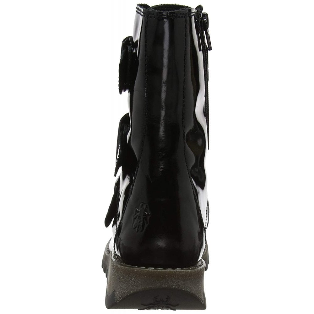 fe950a684a9 Scop110 Leather Biker Ankle Boot