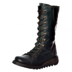 Ster 786 Lace Up Leather Military Boot
