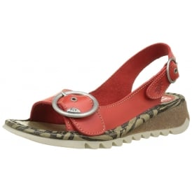 Tram 723 Fly Wedge SlingBack Sandal - Cleated Sole