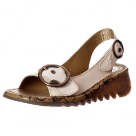 Tram Wedge SlingBack Sandal - Cleated Sole