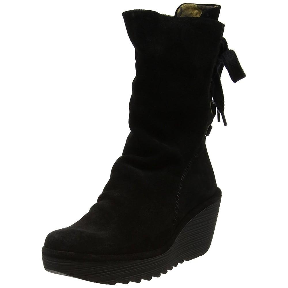 b8ac36d6126 Yada Wedge Heeled Calf Boots