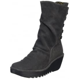 Yada Wedge Heeled Calf Boots