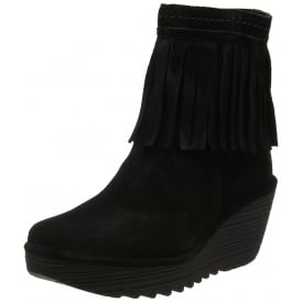 Yagi766 Tassled Ankle Boot