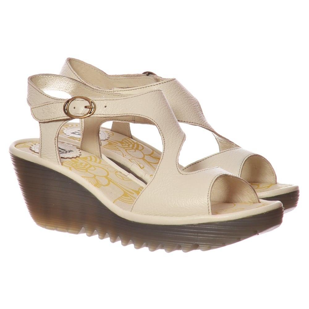5990f69418100 Fly London Yanca Summer Dress Sandal - OffWhite - WOMENS from Onlineshoe UK
