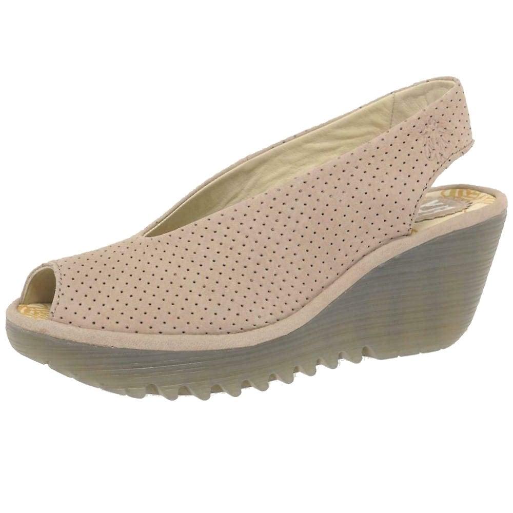0bec9d9537f29 Fly London Yazu736 Peep Toe Slingback Shoe - WOMENS from Onlineshoe UK