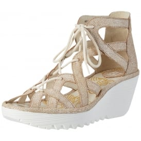 YELI 719 FLY Lace Up Wedge Sandal