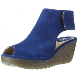 YONE 642 Fly - Pull On Peep Toe Ankle Boot - Suede