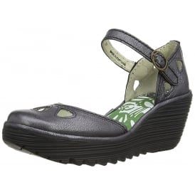 Yuna Mary Jane Wedge Sandal