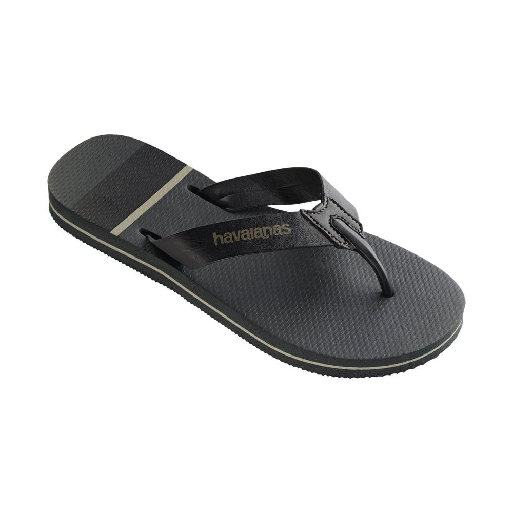 99c97a47b Havaianas Mens Boys Urban Craft Flat Flip Flops - Dark Grey - WOMENS from  Onlineshoe UK
