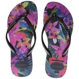 2f422ca1f Slim Tropical Flip Flops