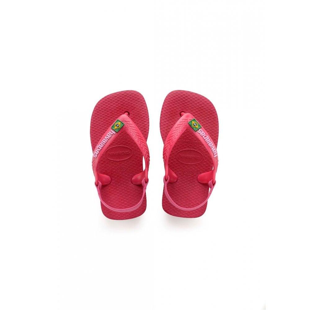 d8a4e24db Havaianas Unisex Babies  Brasil Logo II Sandals Flip Flops - KIDS ...