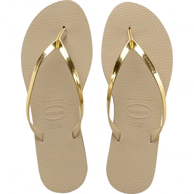 Havaianas You Metallic Flat Flip Flop