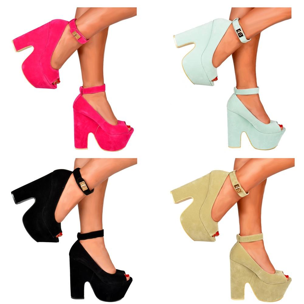 chunky heels uk