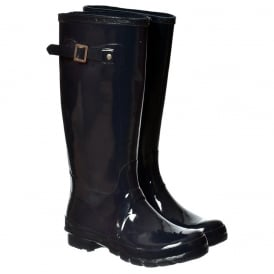 Funky Flat Wellie Wellington Festival Rain Boots - Assorted Colours Gloss