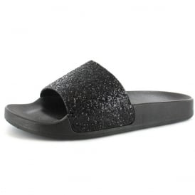 Glitter Sequin Strap Sliders