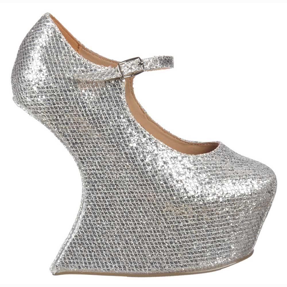 Onlineshoe Heel Less Mary Jane - High