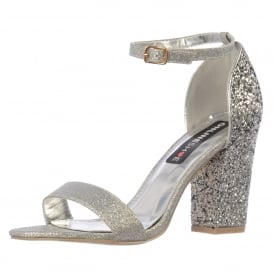 Milan Strappy Glitter Party Heel