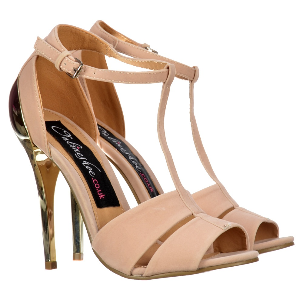 gold peep toe sandals uk