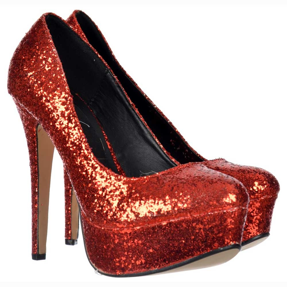 ee644dc58e21 Onlineshoe Sparkly Glitter Platform Stiletto Heels - Party Shoes ...