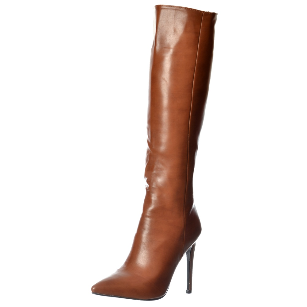 e6a9945fd5d Onlineshoe Stiletto Heel Pointed Toe Knee High Boots - WOMENS from ...