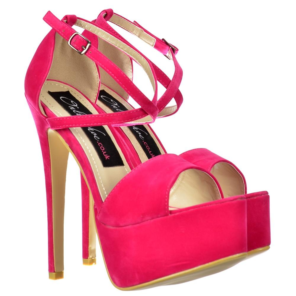 Fuchsia Shoe Round Toe