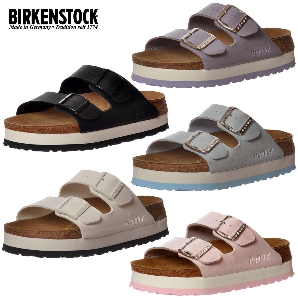 7b6304b72d0b Papillio by Birkenstock Arizona Wedge Platform - Standard Fitting Flip Flop  Sandal