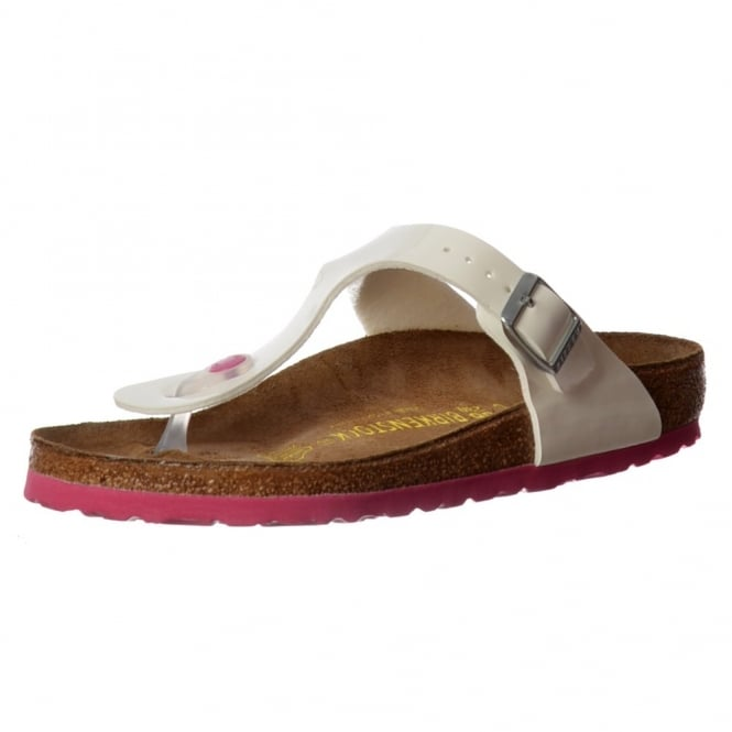 Birkenstock Classic Gizeh BirkoFlor -Standard Fitting Buckled Toe Post Thong Style - Flip Flop Sandal