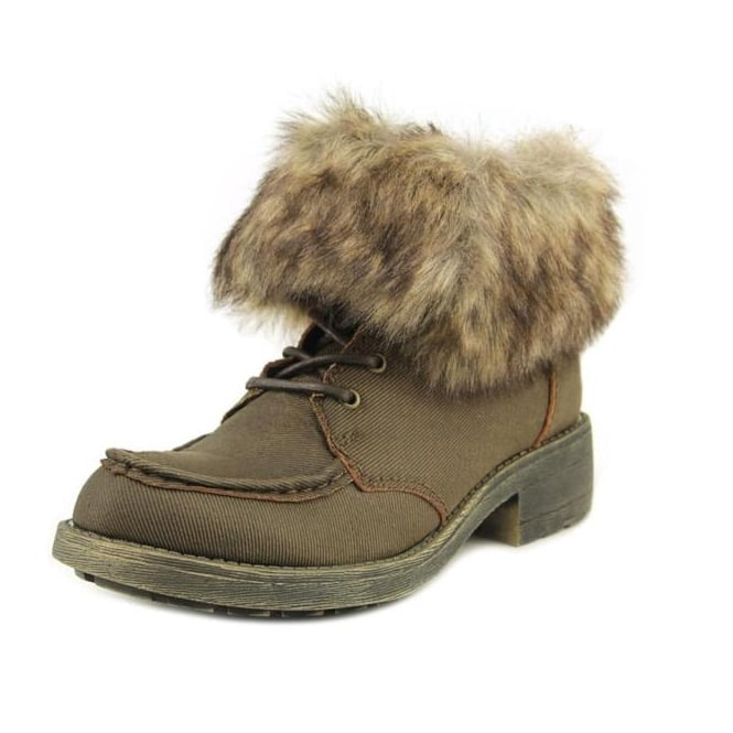 Rocket Dog Teagan Warm Fleece Lined Lace Up Ankle Boot