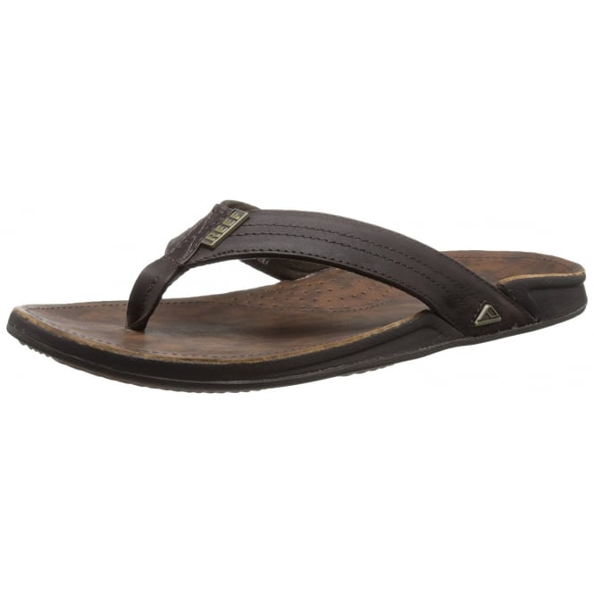Reef Mens J-BAY III Leather Flip Flop