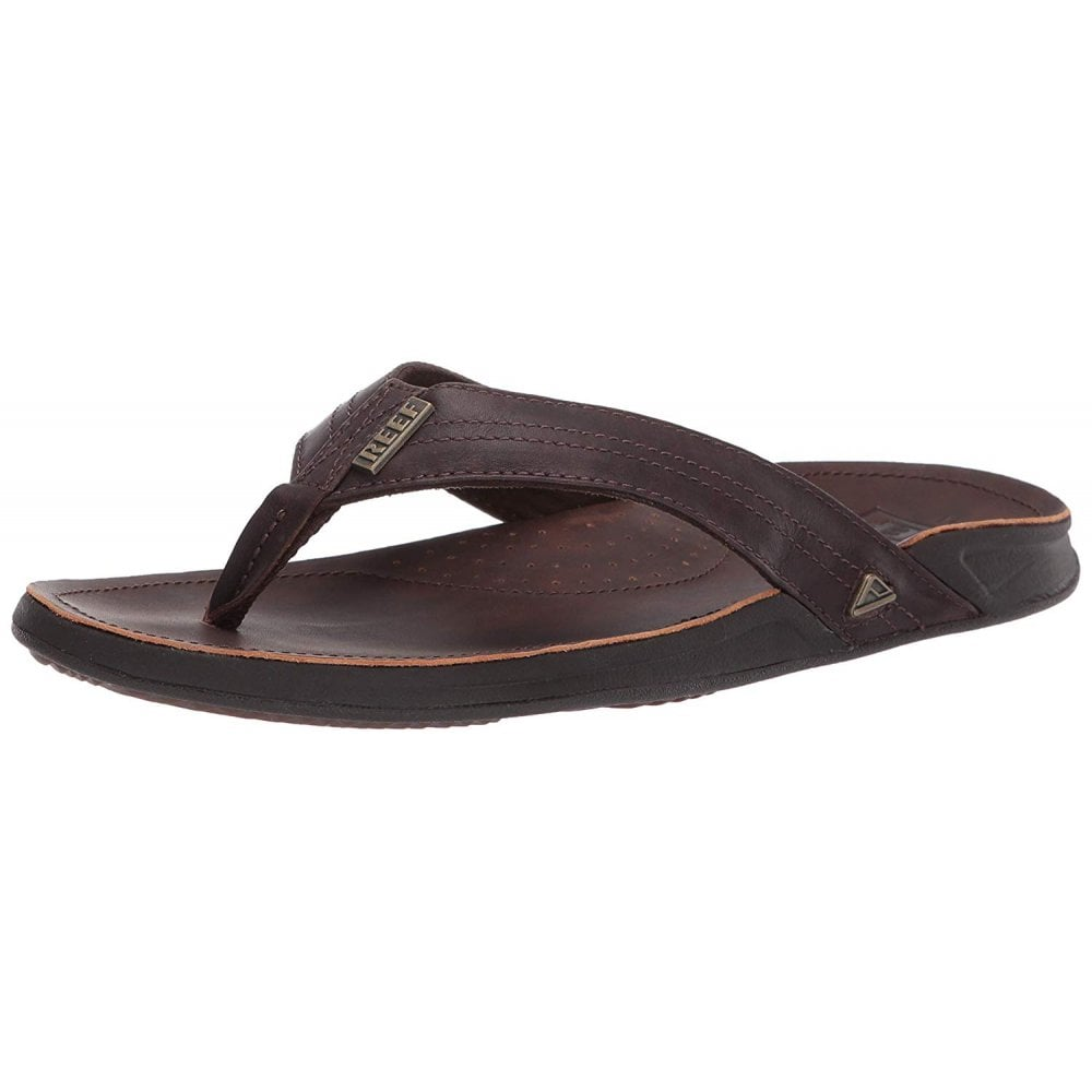 2bc302fd2 Reef Mens J-BAY III Leather Flip Flop - MENS from Onlineshoe UK
