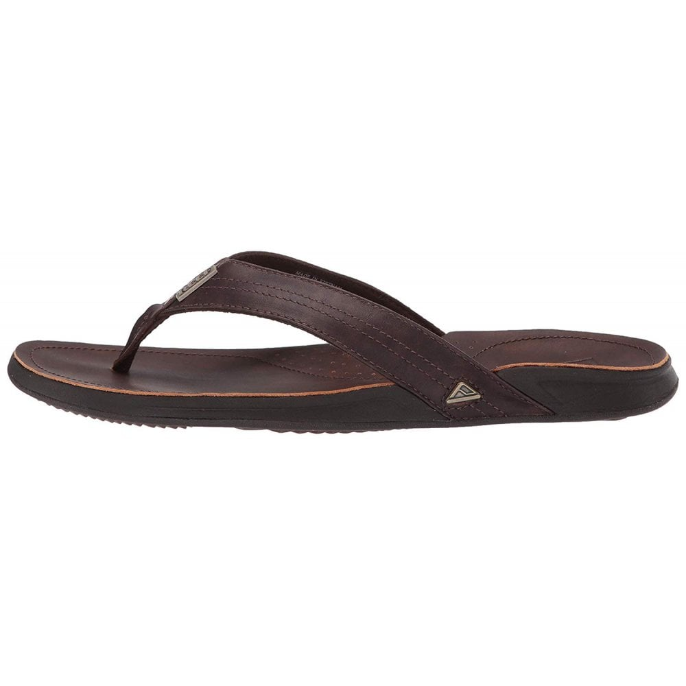 f9f015d2ca19 Reef Mens J-BAY III Leather Flip Flop - MENS from Onlineshoe UK